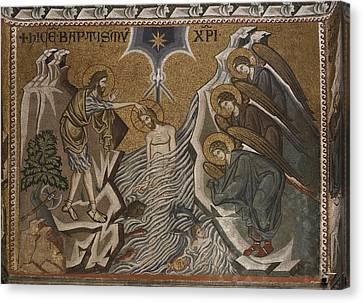 Byzantine Canvas Print - Italy, Veneto, Venice, San Marco by Everett