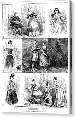 Jenny Lind (1820-1887) Canvas Print