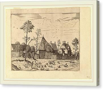 Johannes Van Doetechum, The Elder And Lucas Van Doetechum Canvas Print