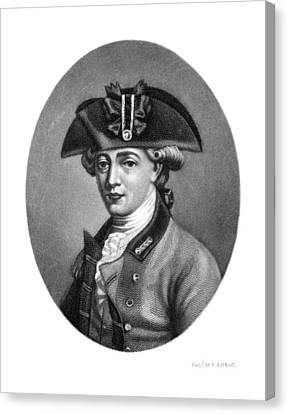 John Andre (1751-1780) Canvas Print by Granger