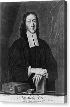 John Wesley (1703-1791) Canvas Print by Granger