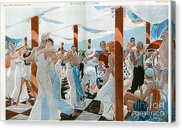 La Vie Parisienne  1931 1930s France Cc Canvas Print by The Advertising Archives