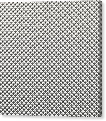 Metal  Background Canvas Print by Tom Gowanlock