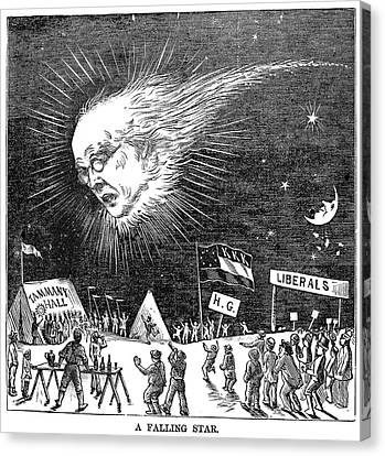 Presidential Campaign, 1872 Canvas Print by Granger