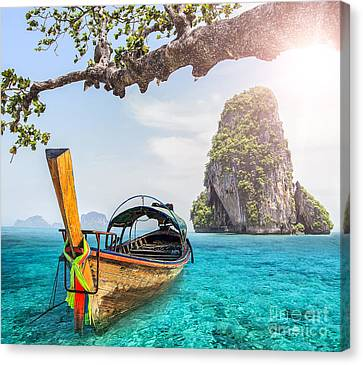 Railay Beach Canvas Print