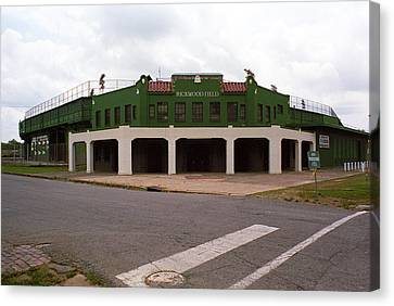 Rickwood Field Canvas Print by Frank Romeo