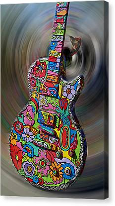 Rock N Roll Collection Canvas Print by Deborah Klubertanz