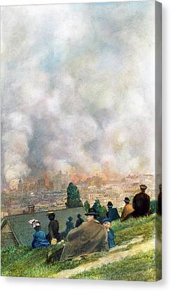 San Francisco, 1906 Canvas Print by Granger