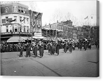 Tubist Canvas Print - Suffrage Parade, 1913 by Granger