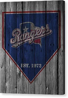 Texas Rangers Canvas Print by Joe Hamilton