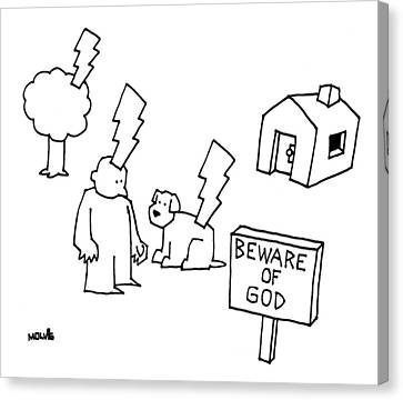 Beware Of God Canvas Print