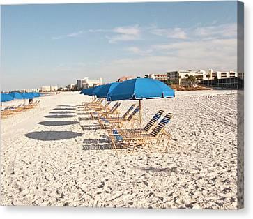 Siesta Key Canvas Print - Usa, Florida, Sarasota, Crescent Beach by Bernard Friel