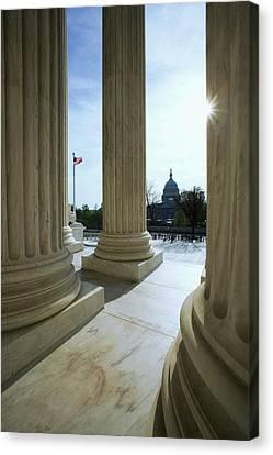 Usa, Washington, D Canvas Print