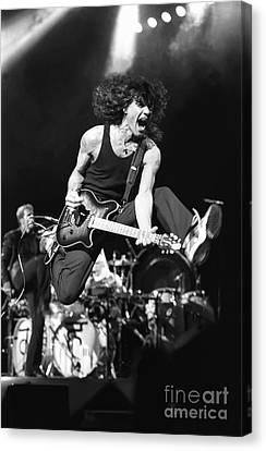 Van Halen Canvas Print - Van Halen - Eddie Van Halen by Concert Photos