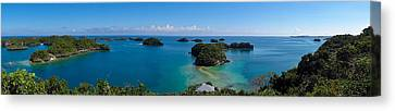 100 Islands National Park Canvas Print