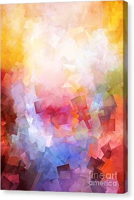 Abstract Expressionism Canvas Print - 1000 Pieces by Lutz Baar