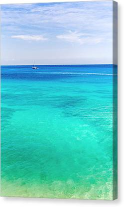 1000 Shades Of Blue Canvas Print by Pierre Leclerc Photography
