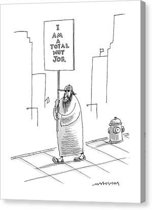New Yorker September 21st, 2009 Canvas Print
