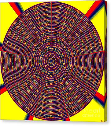 1020 Abstract Thought Canvas Print by Chowdary V Arikatla