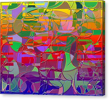 1021 Abstract Thought Canvas Print