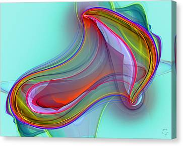 Generative Canvas Print - 1029 by Lar Matre