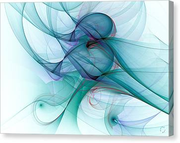 Generative Art Canvas Print - 1045 by Lar Matre