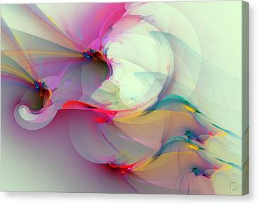 Generative Art Canvas Print - 1059 by Lar Matre