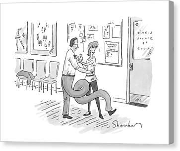 New Yorker September 14th, 2009 Canvas Print