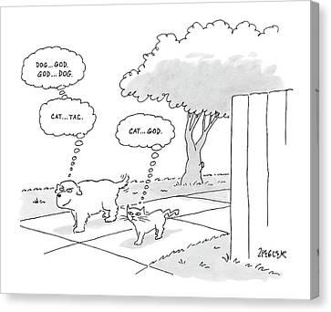New Yorker April 3rd, 2006 Canvas Print