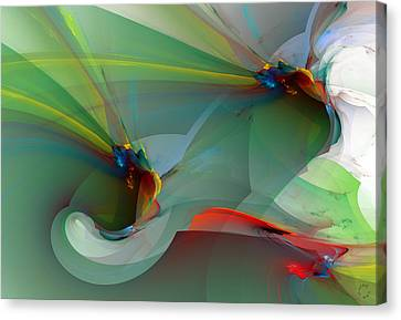 Generative Art Canvas Print - 1085 by Lar Matre