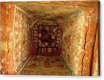 10th Century Murals Of The Ancient Canvas Print