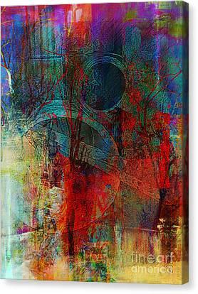 Faniart Africa America Canvas Print - 10th Dimension by Fania Simon