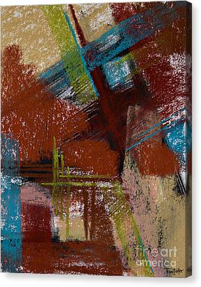 On The Diagonal Canvas Print by Tracy L Teeter