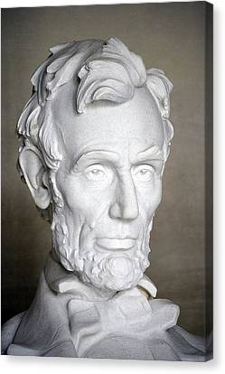 Abraham Lincoln (1809-1865) Canvas Print by Granger