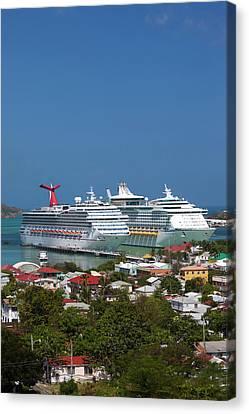 Terminal Canvas Print - Antigua And Barbuda, Antigua, St by Walter Bibikow