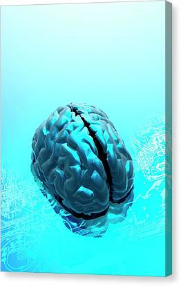 Artificial Intelligence Canvas Print by Victor Habbick Visions