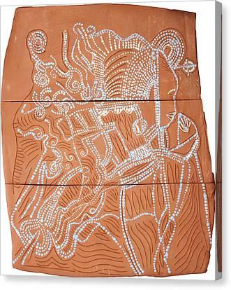 Bikira Maria Canvas Print by Gloria Ssali