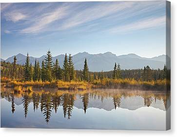 Canada, Alberta, Jasper National Park Canvas Print by Jaynes Gallery