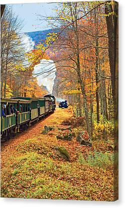 Cass Scenic Railroad Canvas Print by Mary Almond