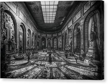 Certosa Di Bologna Canvas Print by Traven Milovich