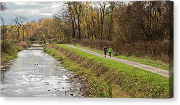 Towpath Canvas Print - Cuyahoga Valley National Park by Jim West