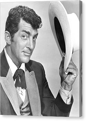 Dean Martin Canvas Print by Silver Screen