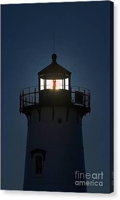Edgartown Lighthouse Canvas Print by John Greim