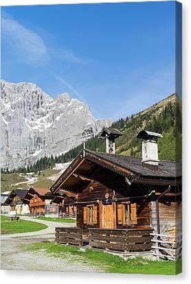 Eng Valley, Karwendel Mountain Range Canvas Print by Martin Zwick