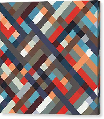 Mike Taylor Canvas Print - Geometric by Mike Taylor