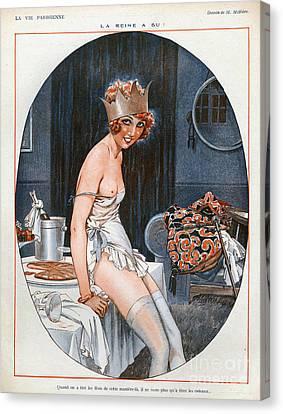 La Vie Parisienne  1926 1920s France Cc Canvas Print by The Advertising Archives
