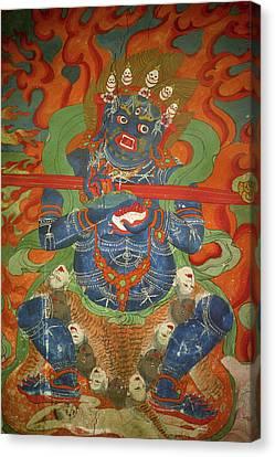 Ladakh, India The Interior Canvas Print by Jaina Mishra