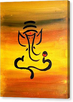 11 Nandana- Son Of Lord Shiva Canvas Print