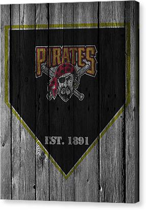 Pittsburgh Pirates Canvas Print - Pittsburgh Pirates by Joe Hamilton