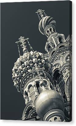 Russia, Saint Petersburg, Center Canvas Print